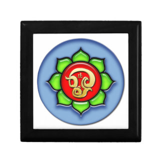 Om (Tamil) Red, Green, Blue Gift Box