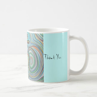 om, Thank You, Thank You Classic White Coffee Mug
