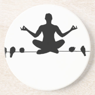 Om the Wire Beverage Coasters