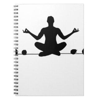 Om the Wire Spiral Notebook