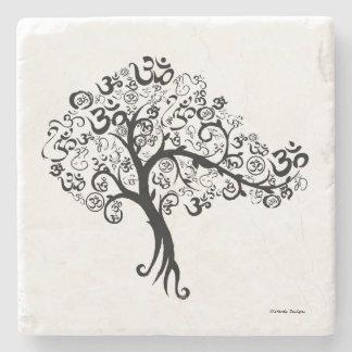 OM Tree Stone Coaster