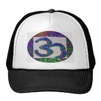 Om Universal Healing Sign V4 Trucker Hat