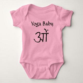 Om Yoga Baby Baby Bodysuit