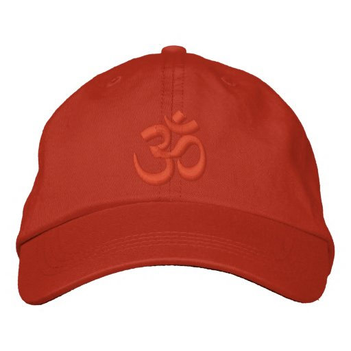 OM Yoga Chakra Orange or customize it Embroidery Embroidered Baseball Cap