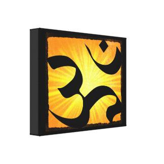 Om Yoga Meditation Zen Canvas Wall Art