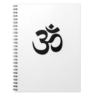 Om Yoga Notebook