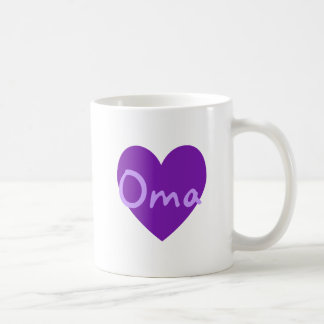 Oma in Purple Coffee Mug