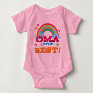 Oma Is the Best Baby Bodysuit