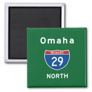 Omaha 29 magnet