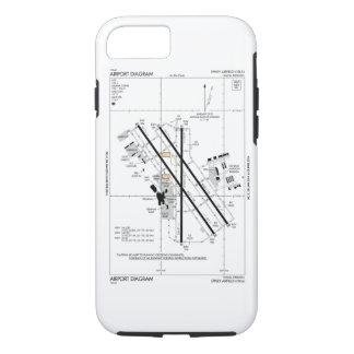 Omaha Airport Diagram Case-Mate iPhone Case