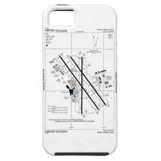 Omaha Airport Diagram iPhone 5 Cover