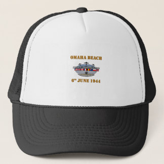 Omaha Beach 6th June 1944 Trucker Hat