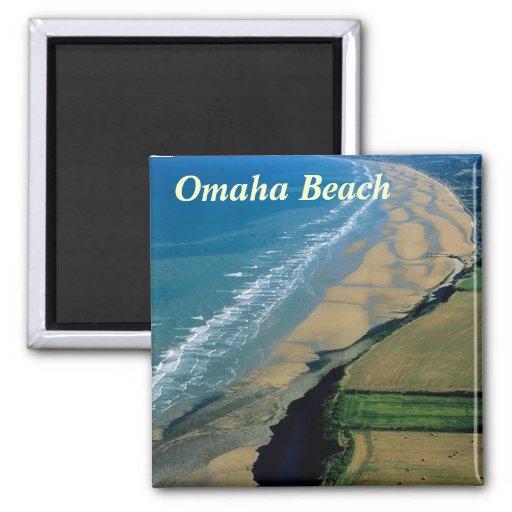 Omaha Beach france magnet
