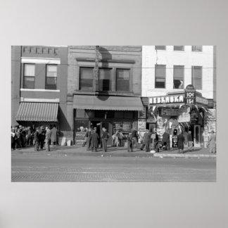 Omaha Hobo Center: 1938 Poster