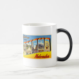 Omaha Nebraska NE Old Vintage Travel Souvenir Magic Mug