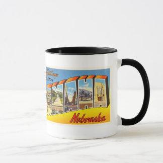 Omaha Nebraska NE Old Vintage Travel Souvenir Mug