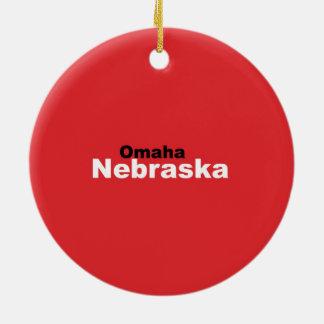 Omaha, Nebraska Ornament