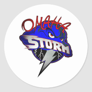 Omaha STORM Classic Round Sticker