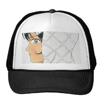 Omaja Decks a Hoodie Trucker Hat