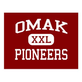 Omak - Pioneers - Senior - Omak Washington Postcard
