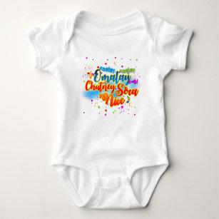 Omalay Chutney Soca Nice Baby Bodysuit