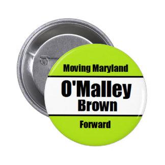 O'Malley-Brown Campaign Button