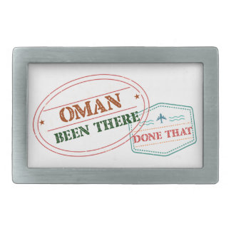 Oman Been There Done That Belt Buckle