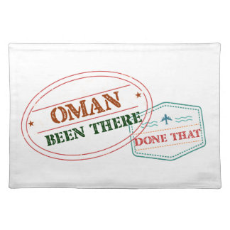 Oman Been There Done That Placemat
