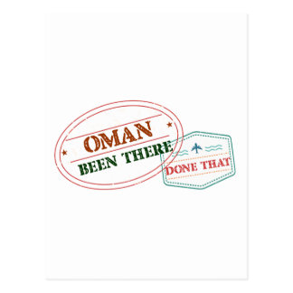 Oman Been There Done That Postcard