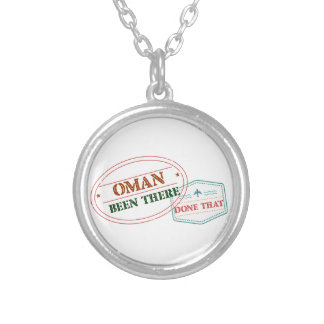 Oman Been There Done That Silver Plated Necklace