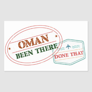 Oman Been There Done That Sticker