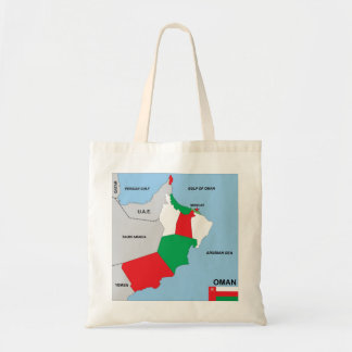 oman country political map flag district region bags