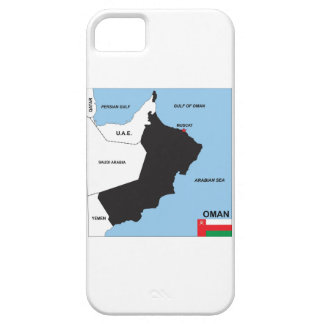 oman country political map flag district region iPhone 5 cases
