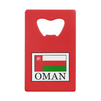 Oman Credit Card Bottle Opener