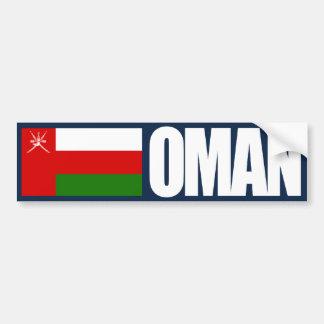Oman Flag Bumper Sticker