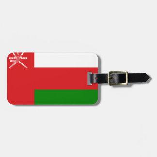 Oman Flag Luggage Tag