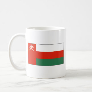 Oman Flag ~ Map Mug