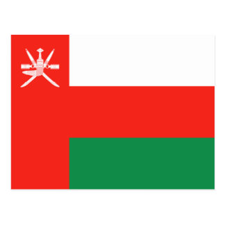 Oman Flag Postcard