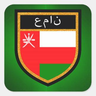 Oman Flag Square Sticker