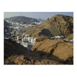 Oman, Muscat, Ruwi/Al Hamriyah. View of Ruwi / Postcard