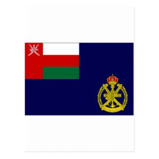 Oman Naval Ensign Postcard