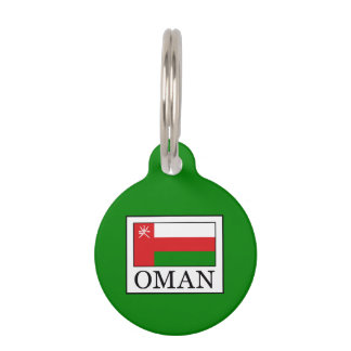 Oman Pet Name Tag