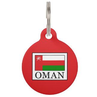 Oman Pet Tag