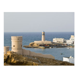 Oman, Sharqiya Region, Sur. Towers of Al Ayajh Postcard