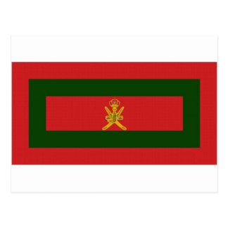 Oman Sultan Flag Postcard