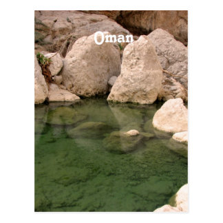 Oman Watering Hole Postcard