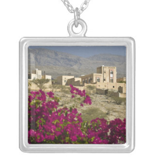 Oman, Western Hajar Mountains, Al Hamra. Town Silver Plated Necklace