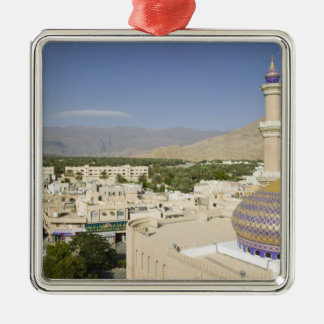 Oman, Western Hajar Mountains, Nizwa. Nizwa Metal Ornament