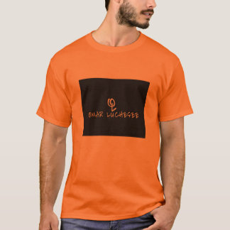 OMAR LUCHESEE LONG-ORANGE T-Shirt