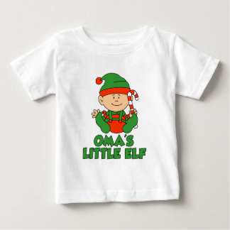 Oma's Little Elf Baby T-Shirt